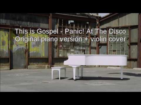 This is Gospel - Panic! At The Disco, piano + violin