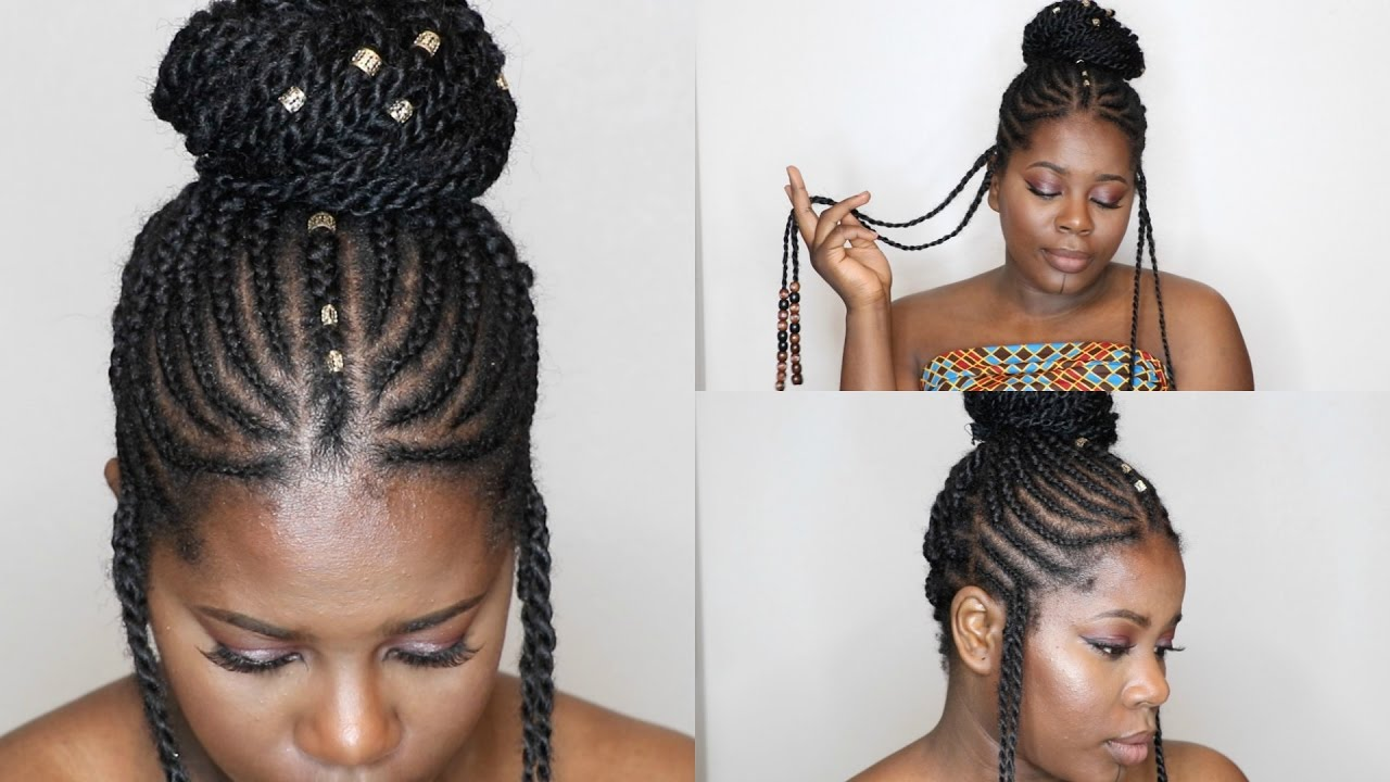 Easy Braids And Beads Using Marley Hair Twist Alicia