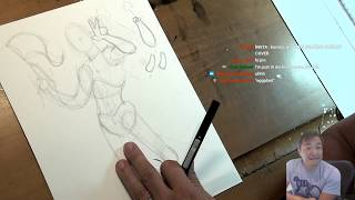 How to draw the JOKER! Art Stream with Jim Lee | Draw Along