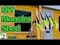 How To Build A Monster Shed  Part 1