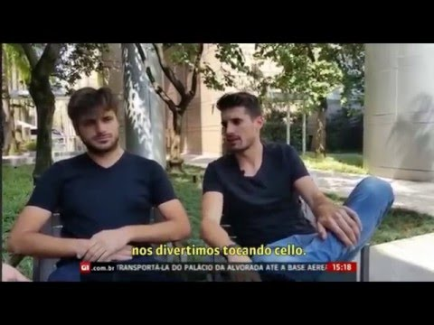 2CELLOS -  interview in Brazil