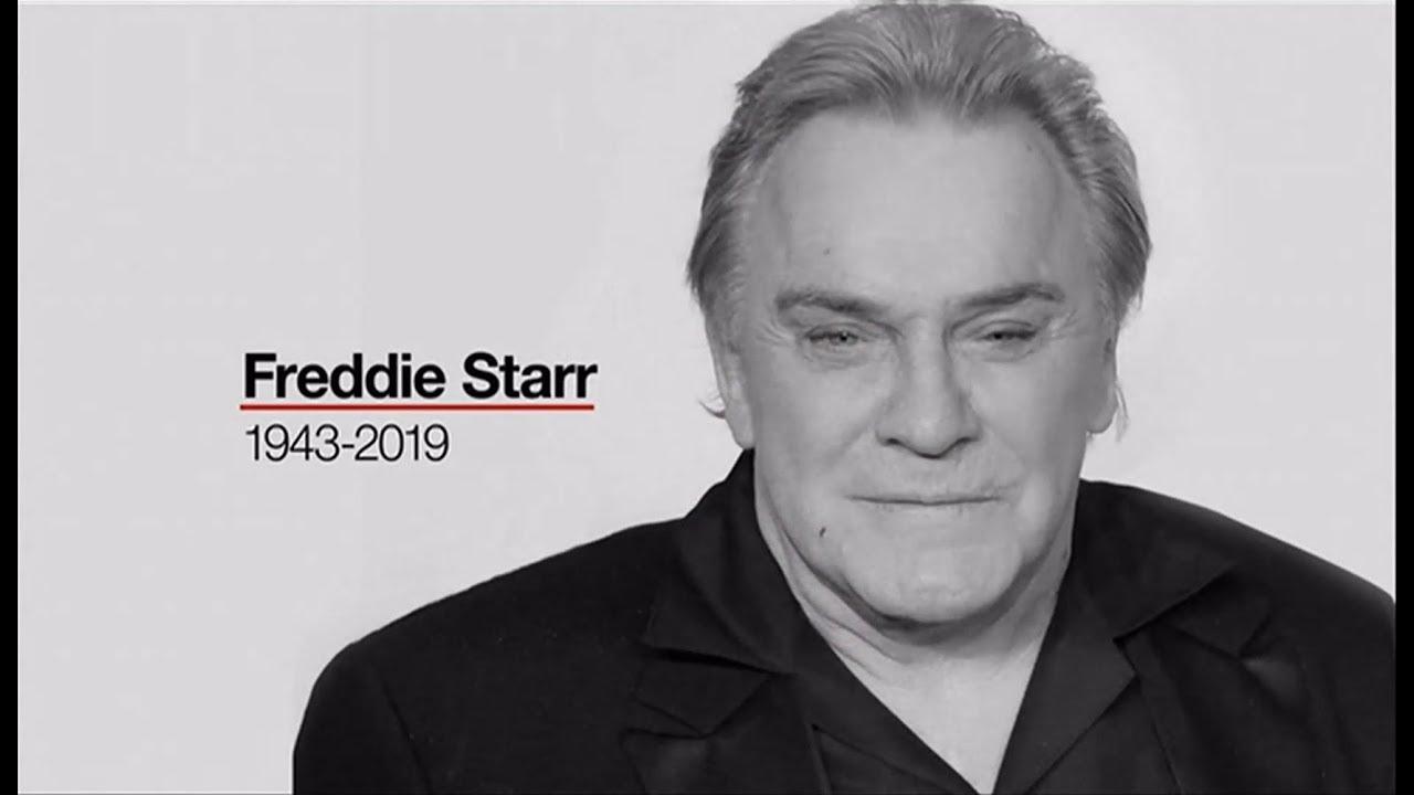 Freddie Starr passes away (1943 - 2019) (UK) - BBC & Sky News - 10th May 2019