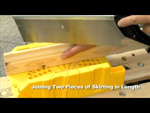 How To Use A Mitre Box Youtube