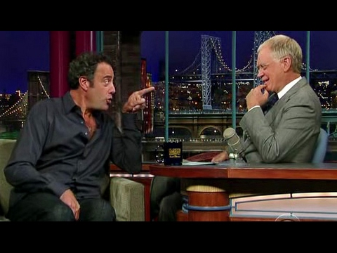Brad Garrett on Letterman