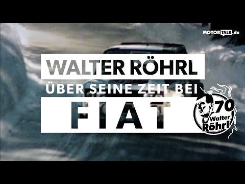 Walter Röhrl und Fiat