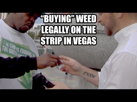 "How to ""buy"" weed on the street in Las Vegas"