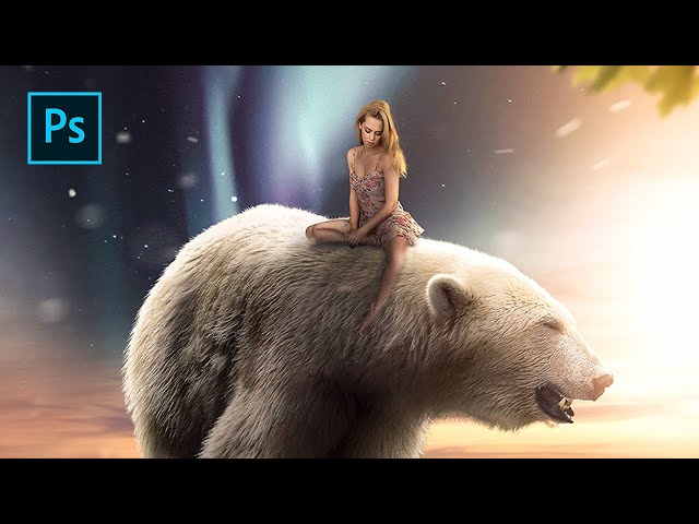 Big Polar Bear - Photoshop Manipulation Tutorial