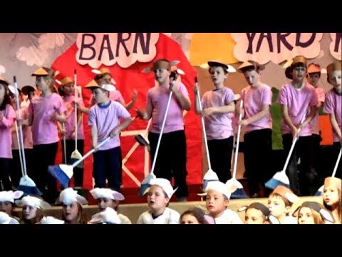 Barn Yard Moosical Voorheesville Elementary School