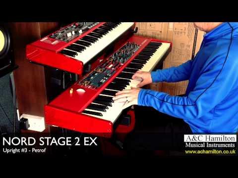 NORD Stage 2 EX Upright Pianos Demo - A&C Hamilton