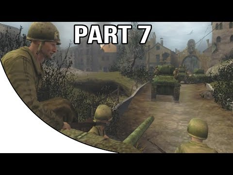 Call Of Duty 2 Big Red One - Gameplay Walkthrough Part 7 - Farewell To Friends