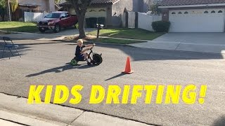KIDS DRIFTING!