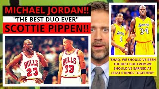 Kobe Bryant (Lakers) Shaquille O'Neal(Lakers) Top 5 Best Duos? First Take Stephen/Max [Commentary]