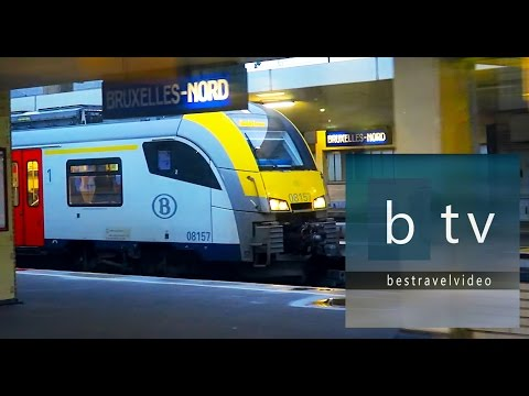 How to travel by train from Brussels to Luxembourg. (practical info)