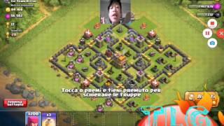 Attacco con arceri su clash of clans #1