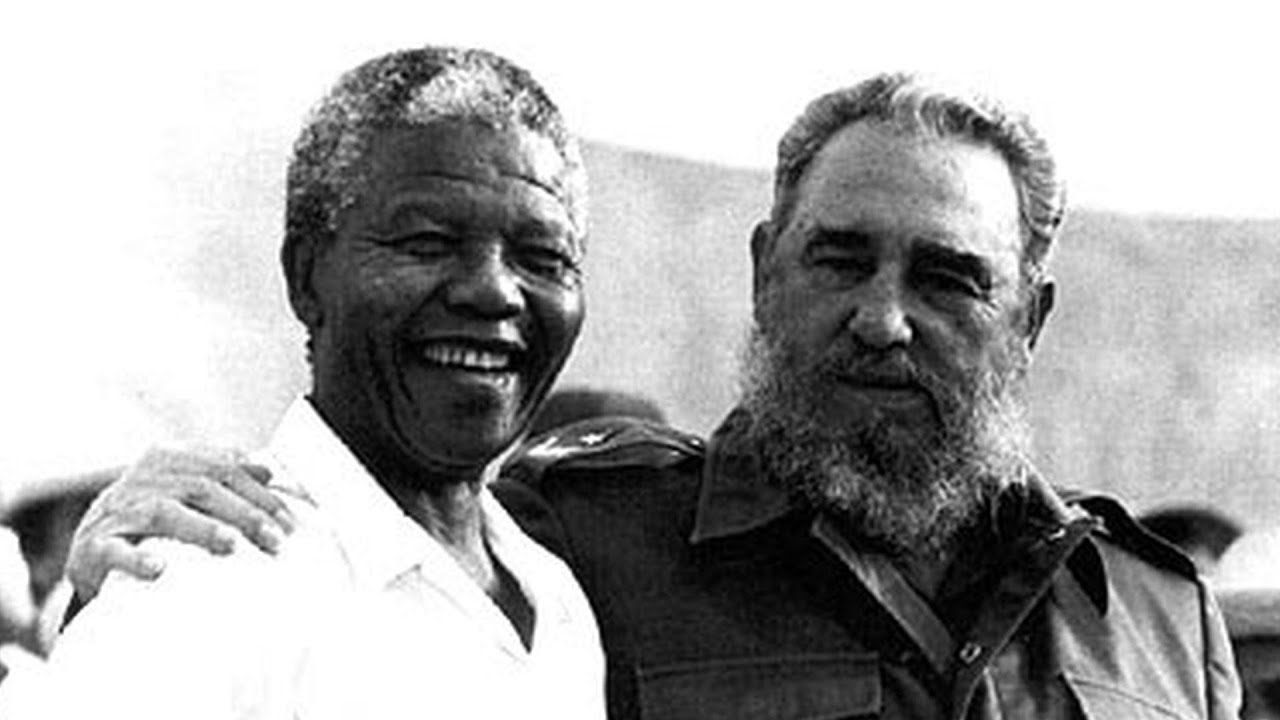 Image result for mandela castro