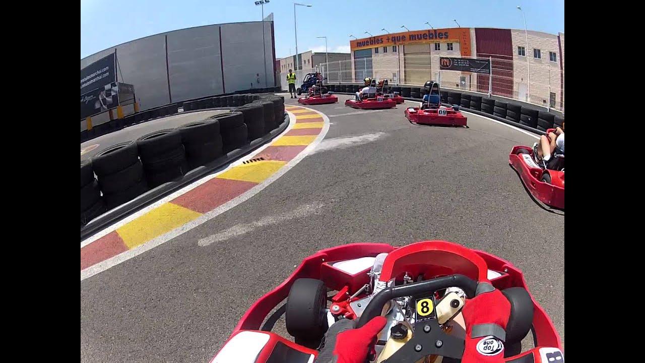 Circuito Horta Nord : Mike pilotando en karting horta nord campeonato regional
