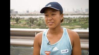 Naomi Osaka Pre-Tournament Interview | 2019 Dubai | 大坂なおみ