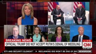 "CNN's David Gergen On Trump Putin Meeting: ""This Was Presidential, This Was Big League Stuff"""