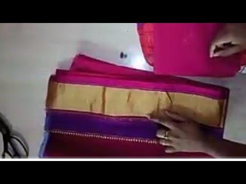 Paithani | shalu | kathpadar |Blouse back neck Design | model Blouse Design cutting & stitching |