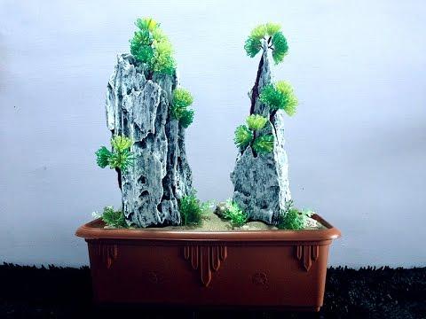 How to make beaded bonsai    bonsai tree   make bonsai for home decor   Beads art