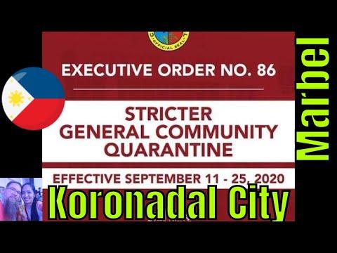 Executive Order No. 86 | STRICTER GENERAL COMMUNITY QUARANTINE | Koronadal City,  Marbel,  Mindanao