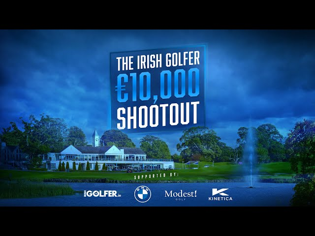 Irish Golfer Shootout supported by BMW and Modest! Golf