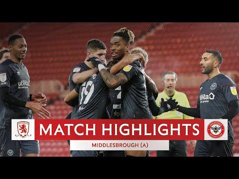 Middlesbrough Brentford Goals And Highlights