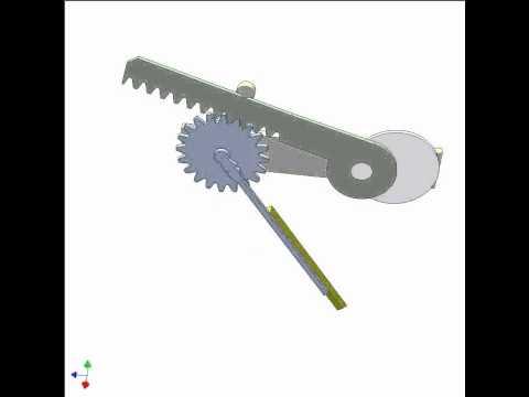 application of rack pinion mechanism 2