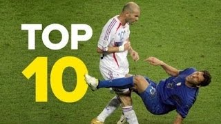 Top 10 Craziest Moments in Football History + Most Creative Free Kicks Ever! - Funny Soccer Moments