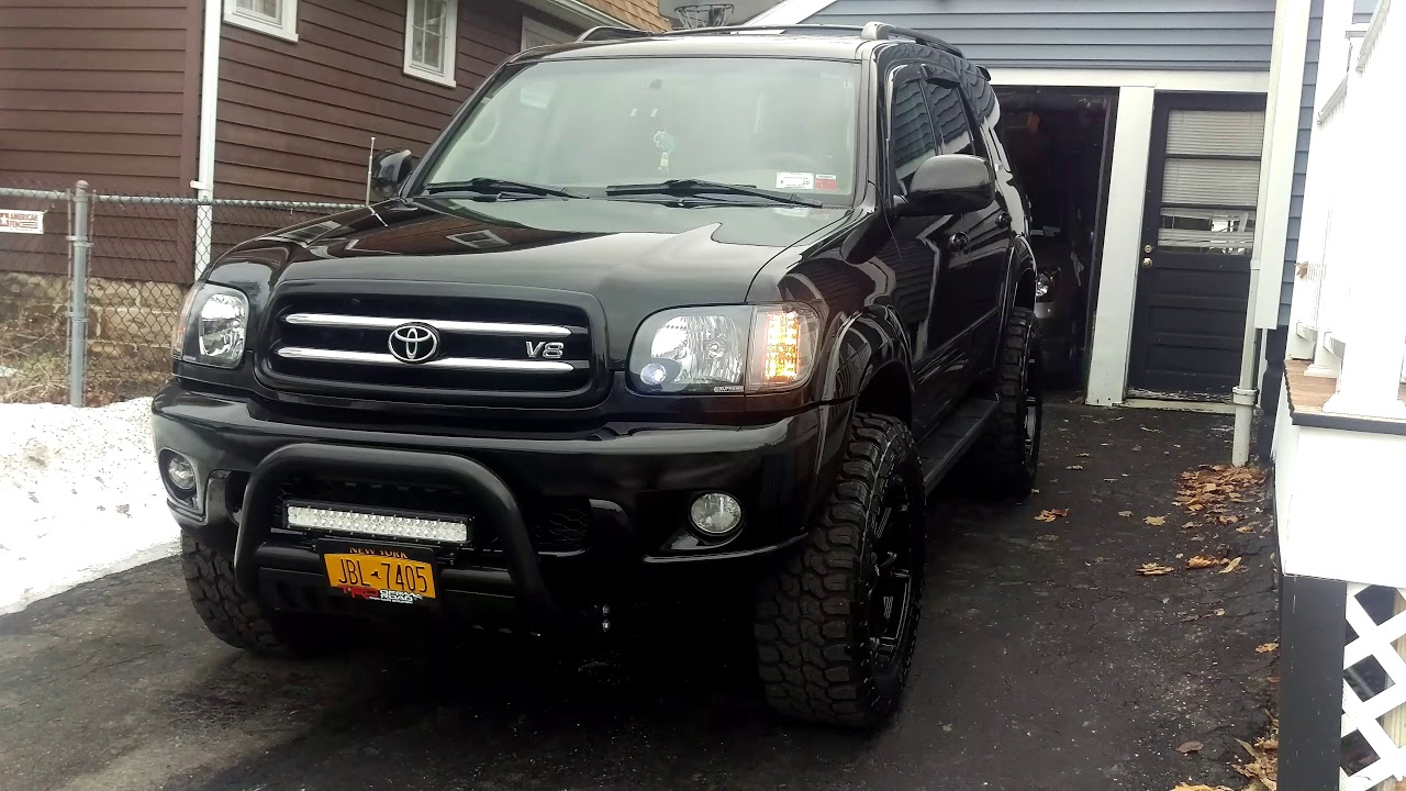 Toyota Sequoia Limited Lifted Youtube