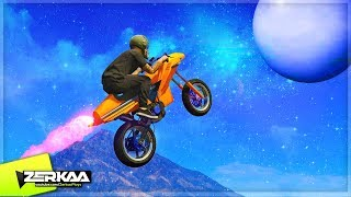 FLYING TO SPACE IN BIKES! (GTA 5)