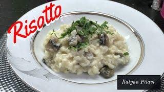Mantarlı Risotto Nasıl Yapılır? (İtalyan Pilavı) - Naciye Kesici - Yemek Tarifleri