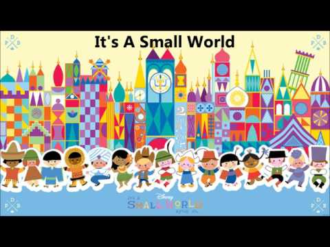 It's A Small World Karaoke/Instrumental (With Lyrics)