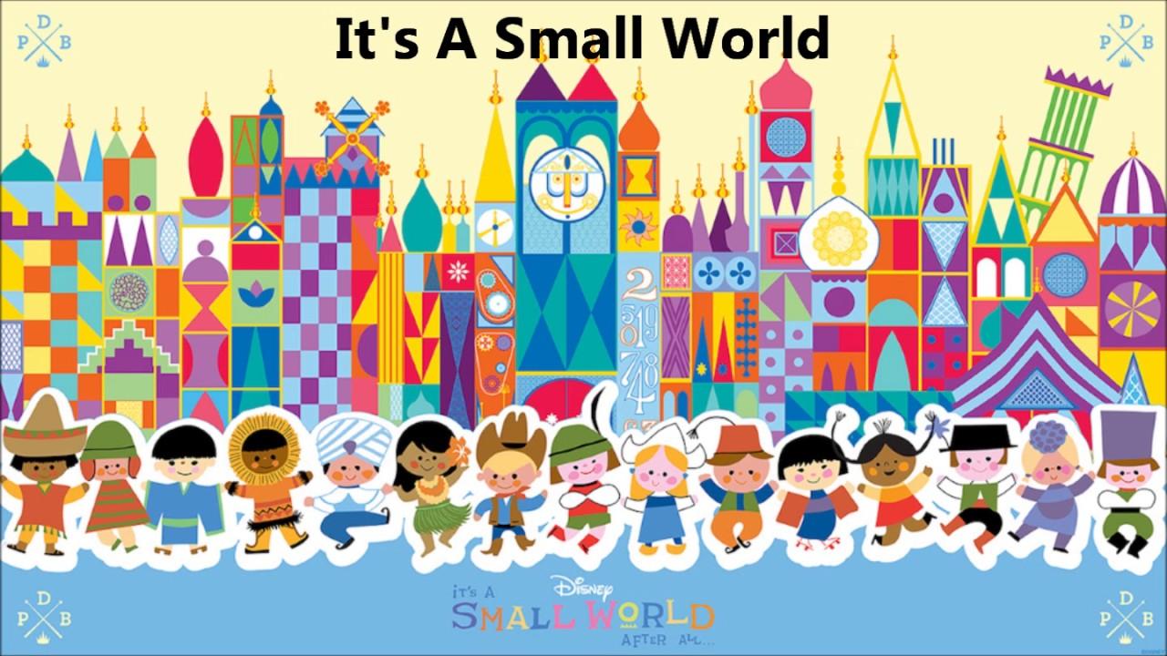It's A Small World - lyrics.red-goose.com