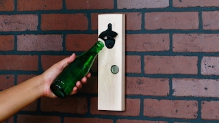 Hidden Magnet Bottle Opener