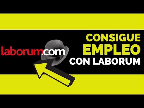 como buscar trabajo en laborum.com (Páginas de empleo en chile)