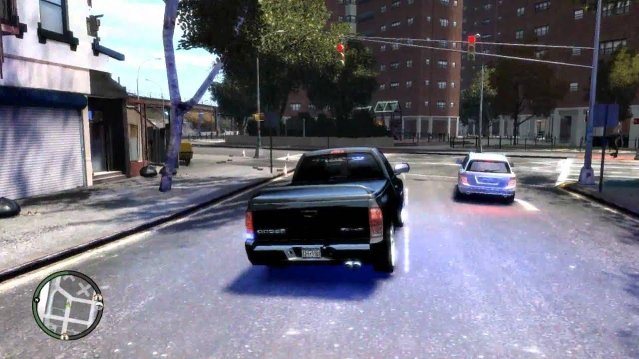 GTAIV Unmarked Dodge Ram SRT 10