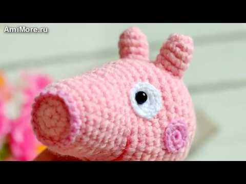 амигуруми схема свинки пеппы игрушки вязаные крючком Free Crochet