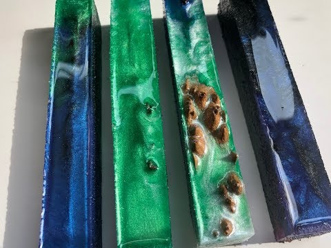 Hybrid Resin Pen Blank Making