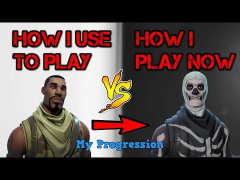 How I Used To Play Fortnite Vs How I Play Fortnite Now (My 1 Year Progression)