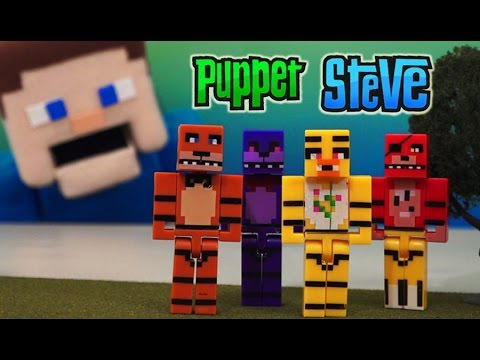 Five Nights at Freddy&39;s Bootleg Minecraft Block Toy Figures Fake Knock off&39;s unboxing