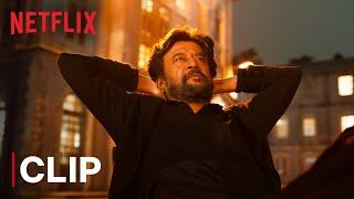 Rajinikanth Petta Church Fight   Mass Scene   Netflix India
