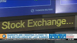 TSX up 3 days in a row, and other top business news