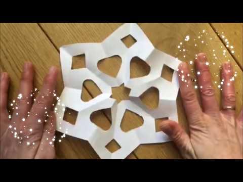 Fiocchi Di Neve Di Carta Facili : Fiocchi di neve di carta a sei punte fiocchi di neve quilling fai