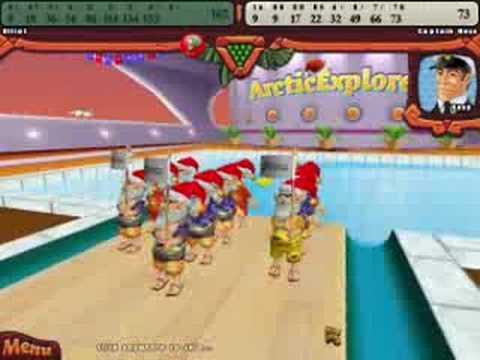 Elf Bowling Hawaiian Vacation