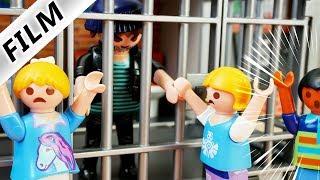 Playmobil Film Deutsch PIAS VATER IM GEFÄNGNIS BESUCHEN! LEBENSLANG IM KNAST? Familie Vogel