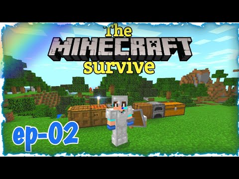 কেভ এডভেঞ্চার   minecraft bangla survival ep•02   let's play Minecraft  