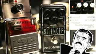 NOISELESS METAL TONES: Decimator G String vs Silencer vs NS2 Noise Suppressors