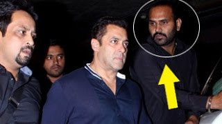 ANGRY Salman Khan Spotted at Mumbai International Airport