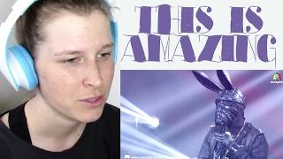 THE MASK SINGER - HOW AM SUPPOSED TO LIVE WITHOUT YOU   REACTION